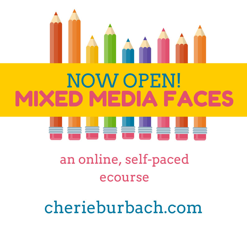 Mixed Media Faces Is Officially Open!