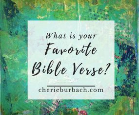 What's Your Favorite Bible Verse?