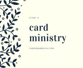 Start a Card Ministry