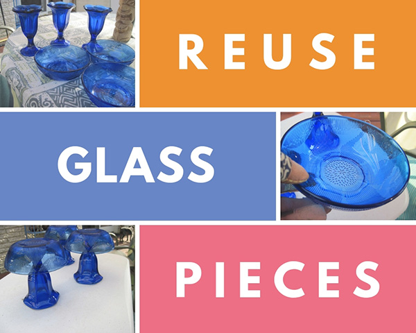 Ways to Reuse Old Glasses and Vases