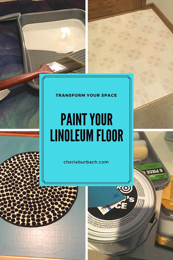 Paint That Linoleum Floor Cherie Burbach