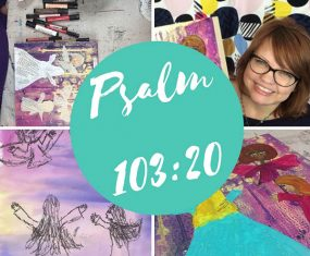 Bless the Lord: My Latest Painting the Psalms Ecourse is Officially Open
