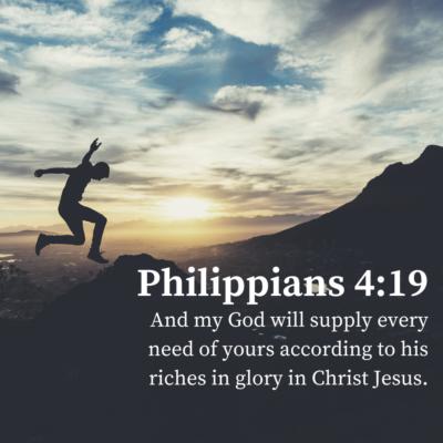 God Supplies Every Need