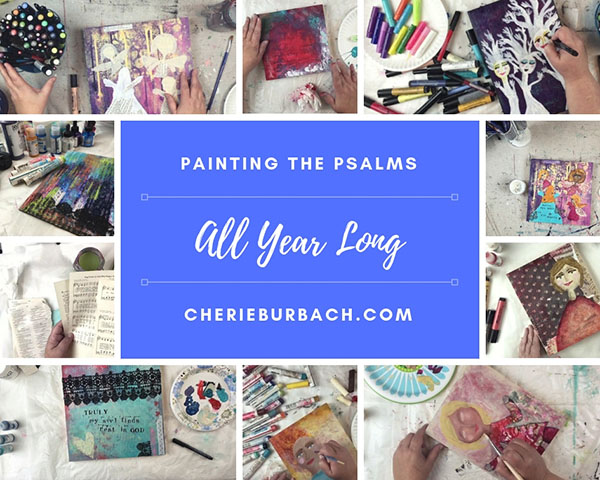 Painting the Psalms All Year Long