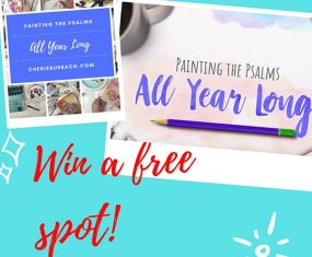 Win a Spot in My Latest Painting the Psalms Ecourse