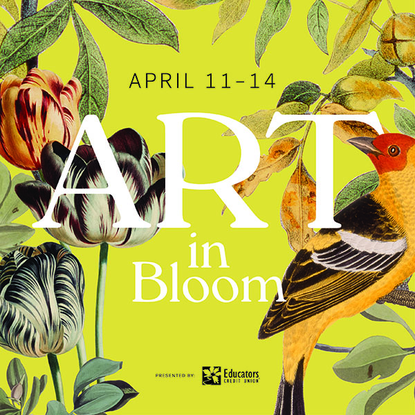 Fabulous Time at Art in Bloom at the Milwaukee Art Museum