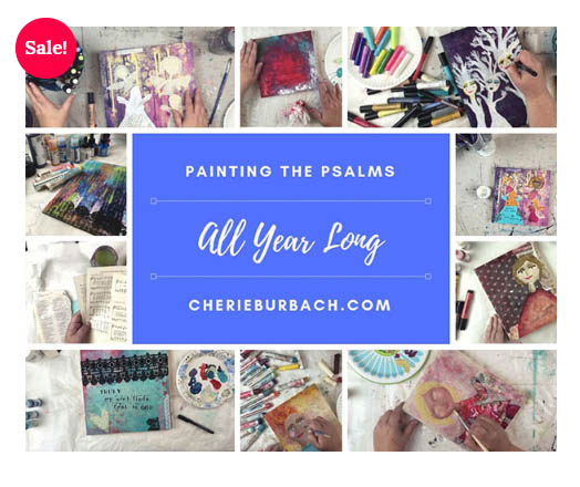 SALE on Painting the Psalms All Year Long