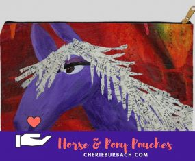 New Pouches With Pony's and Horses, Oh My!