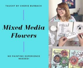 Mixed Media Flowers on Skillshare