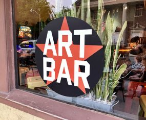 Cutting Edge Exhibit at the Art Bar