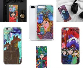 New Horsey, Colorful, Faith-Filled Phone Covers