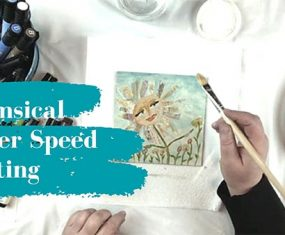 Whimsical Flower Speed Painting