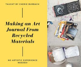 Recycle Those Cardboard Boxes Into an Art Journal