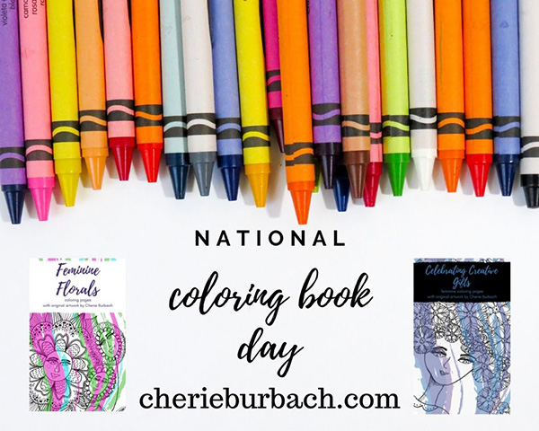 Happy National Coloring Book Day