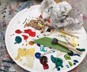 Nothing Brings Joy Like an Art Mess