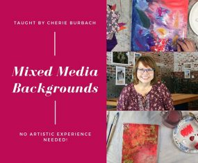 Create a Mixed Media Background With Me