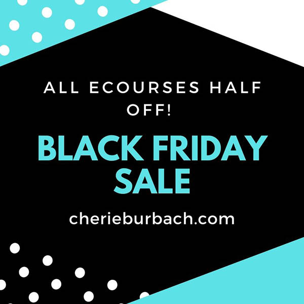 Black Friday Sale on Ecourses