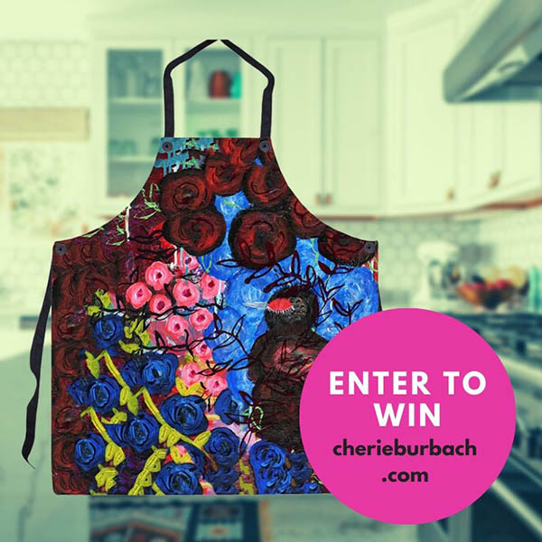 Win a One of a Kind Artsy Apron From Me