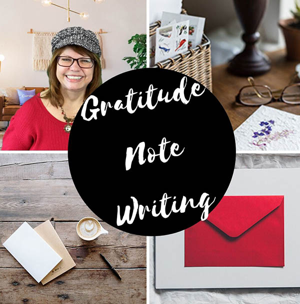 Gratitude Note Writing