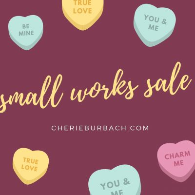 The Small Works Sale Is Open!