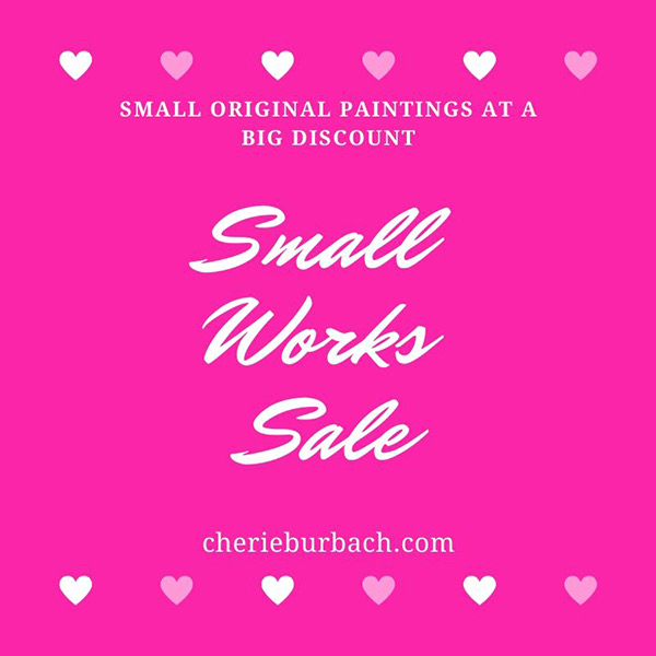 Get Ready for the Small Works Sale