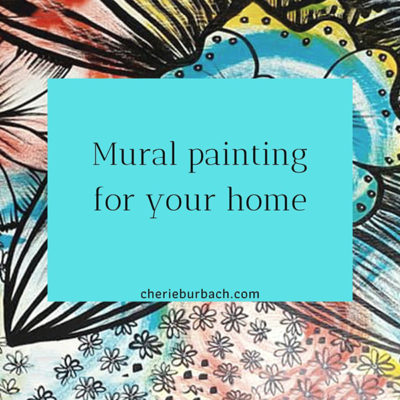 Outline for Mural Painting for Your Home