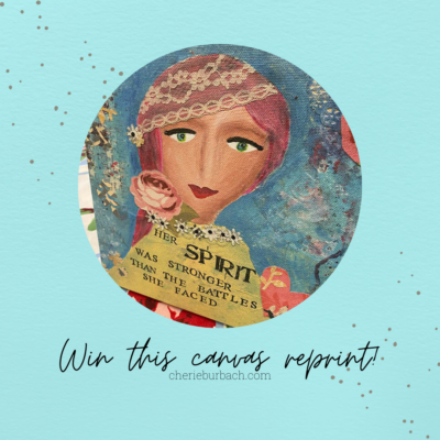 Win a Canvas Reprint to Encourage Your Spirit