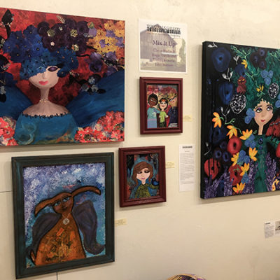 Mix It Up at Woodwalk Gallery